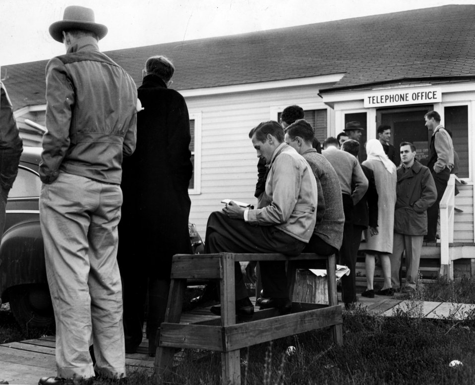 Line for phones from Bell Telephone Co. in Oak Ridge