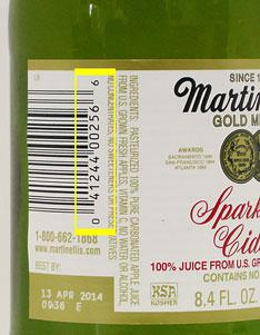 RECALLED – Sparkling Cider