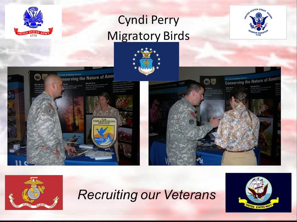 Recruiting our Veterans