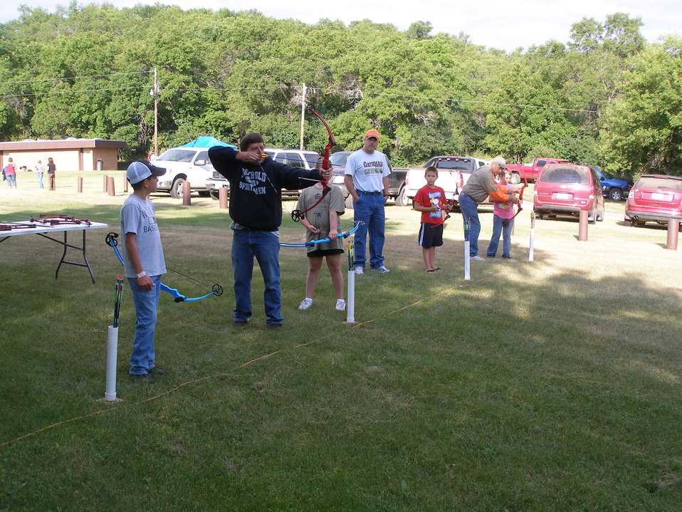 2011 Greenwing Day - Archery Session