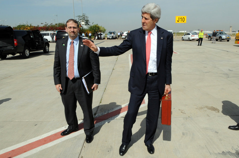 Secretary Kerry Leaves Israel After Middle East Peace Talks