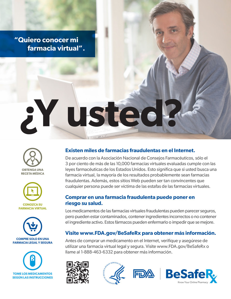 BeSafeRx Consumer Fact Sheet (Spanish)