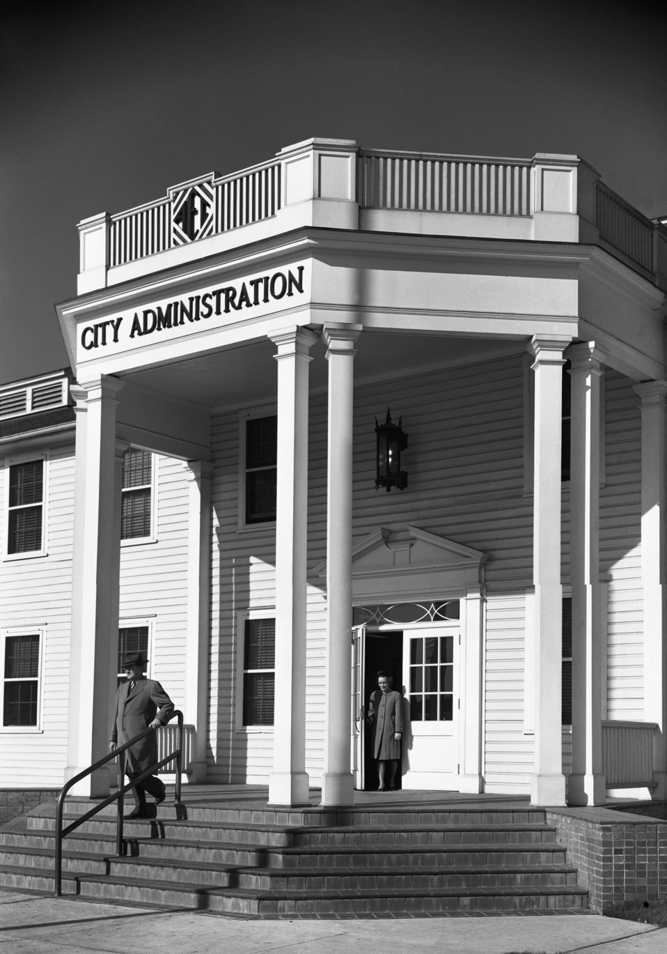 City Administration Building Oak Ridge 1948