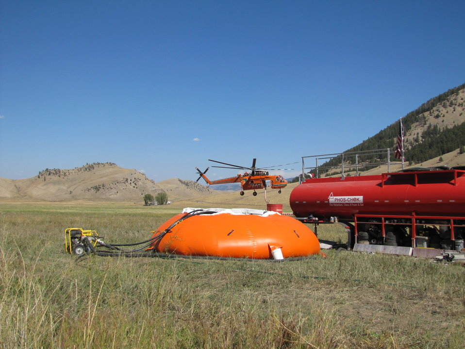 Refuge's Irrigation System Supplies Water for Fire Operations