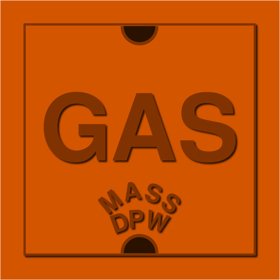 Natural Gas Utility Access Cover