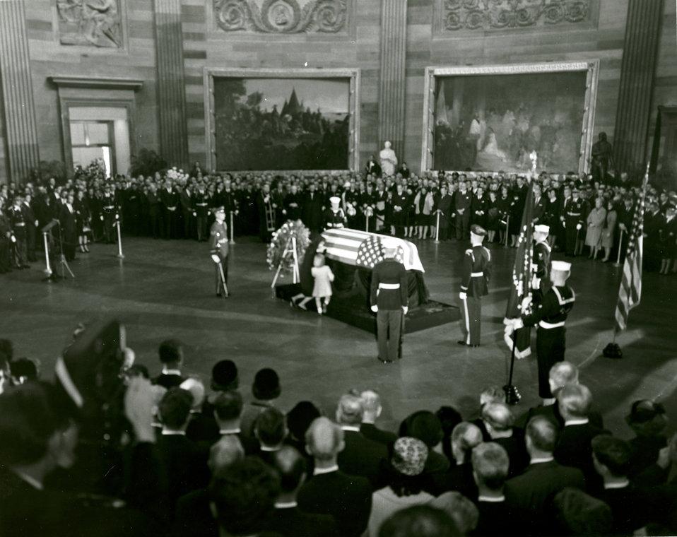 John F. Kennedy Lying in State November 24, 1963
