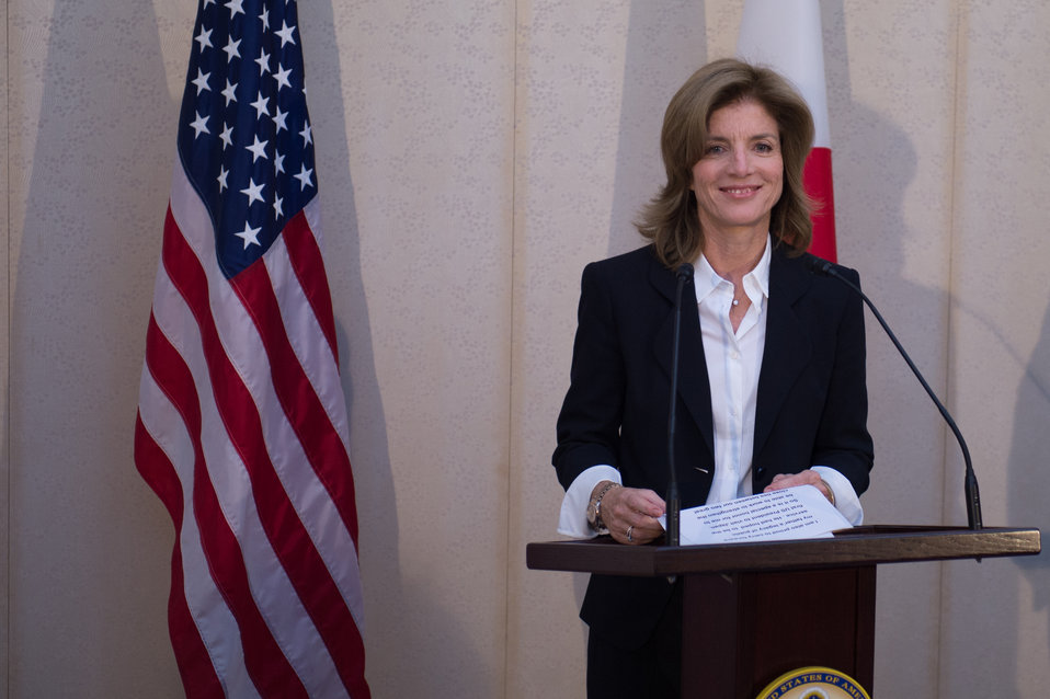 Ambassador Kennedy Makes Her First Remarks in Japan
