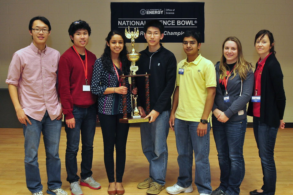 4th place Ravenwood HS 2014 TN DOE Science Bowl