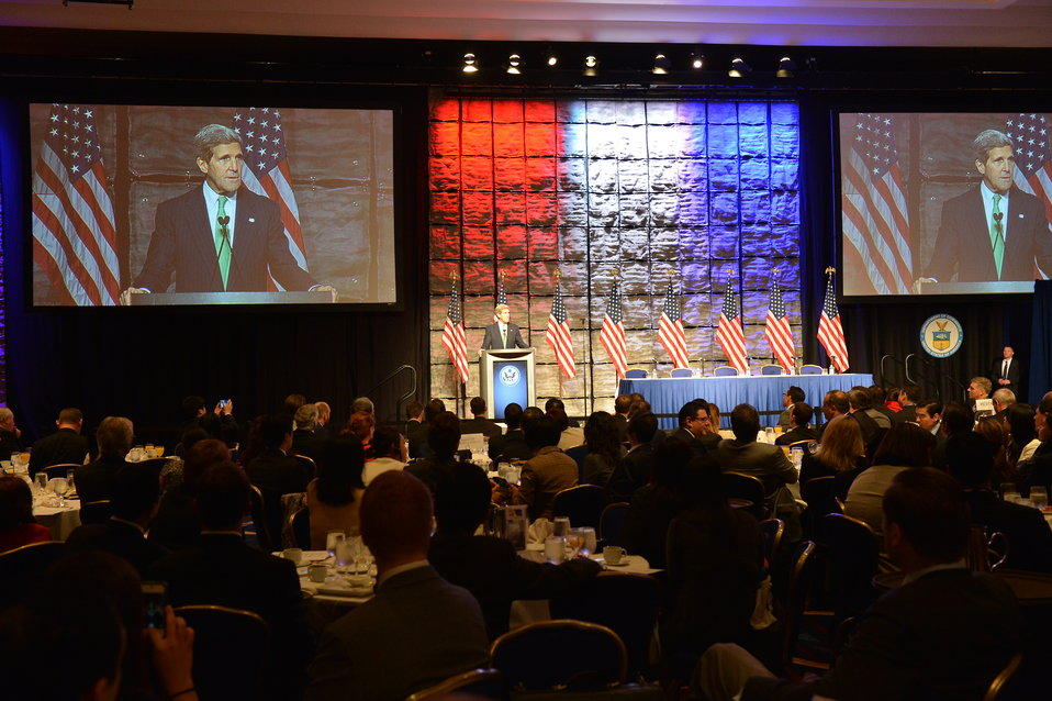Secretary Kerry Delivers Remarks at the SelectUSA Investment Summit