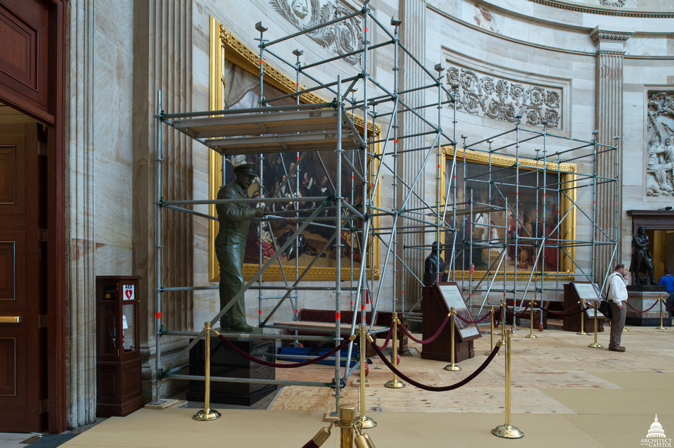 Capitol Dome Restoration - Rotunda Protection Work