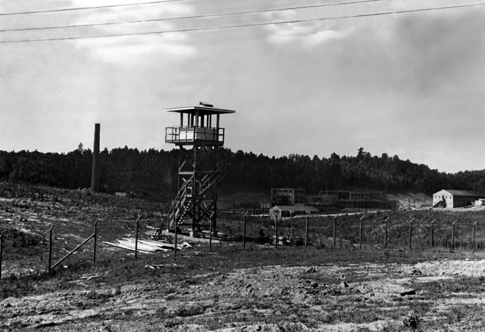 Guard Tower ORNL 1943 Oak Ridge