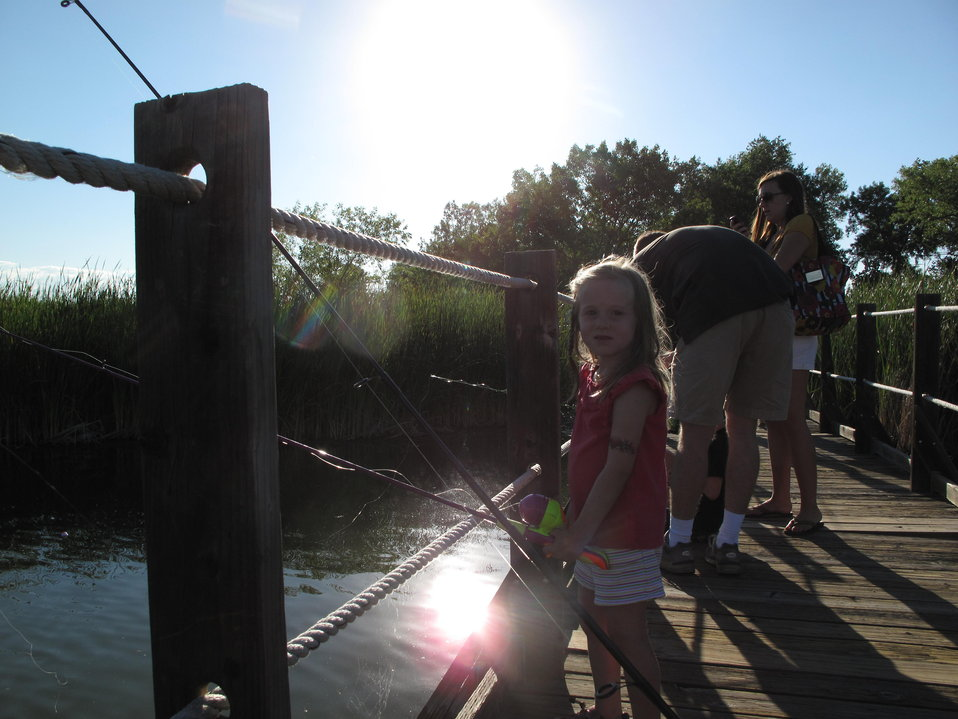 Environmental Learning for Kids Program Fishing