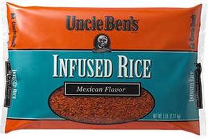 RECALLED – UNCLE BEN'S INFUSED Rice products