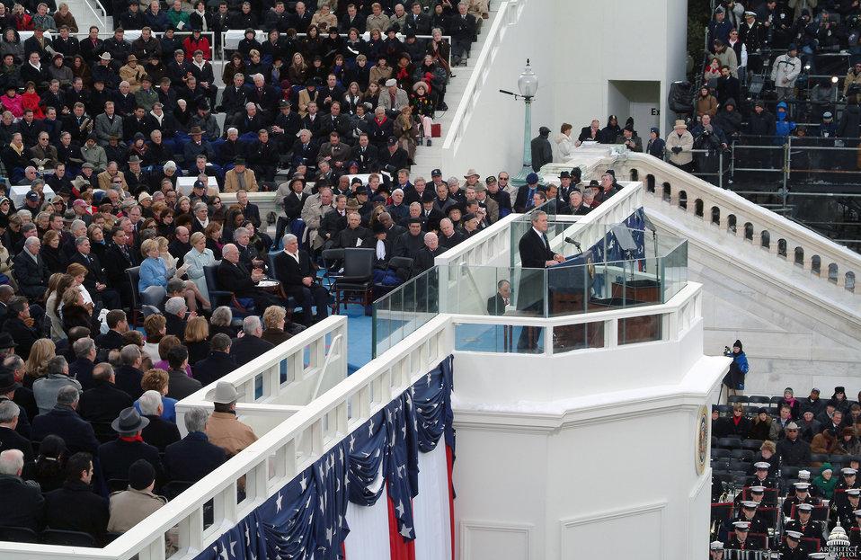 President George W. Bush Second Inaugural