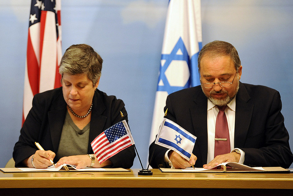 Secretary Napolitano Visits Israel