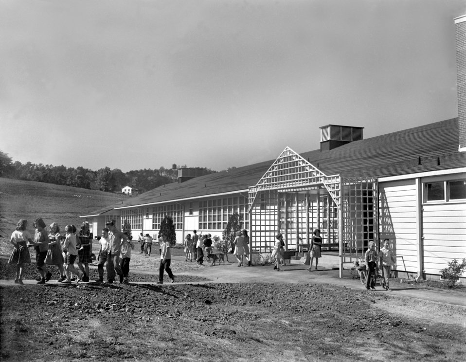 Pine Valley School Oak Ridge 1947