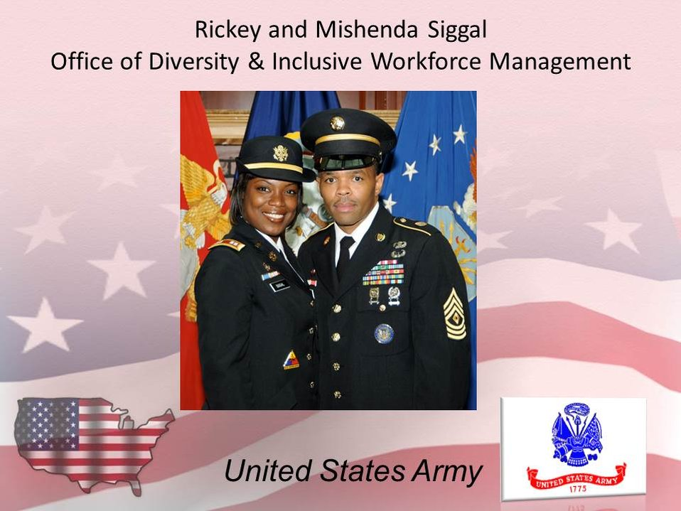 Rickey and Mishenda Siggal