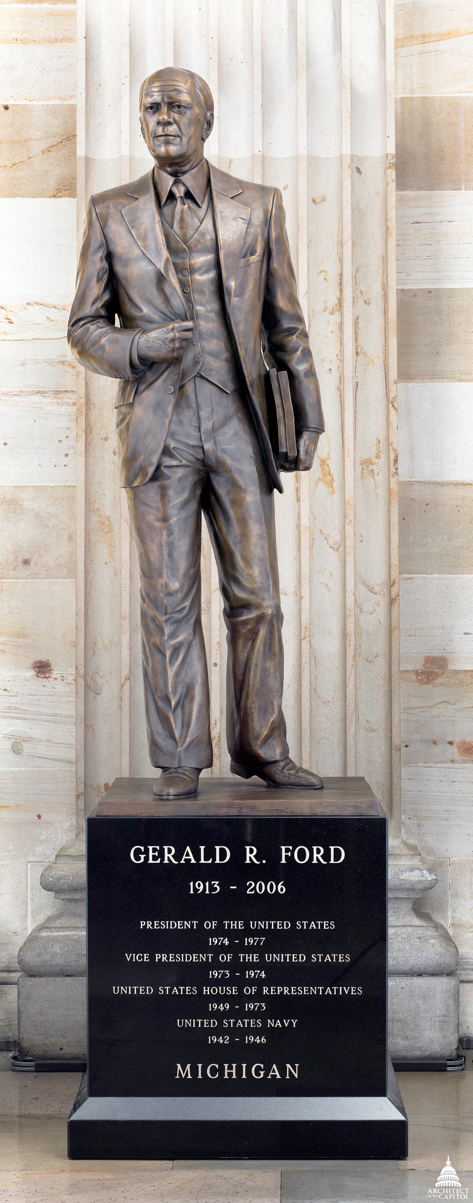 Gerald R. Ford, Jr. Statue