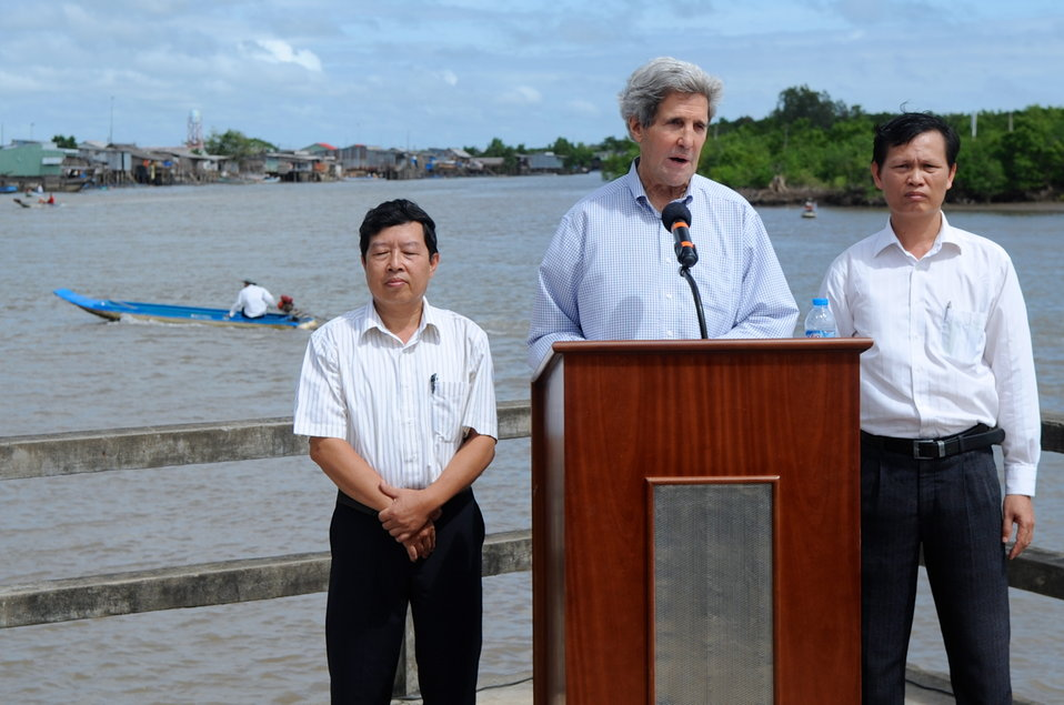 Secretary Kerry Delivers Remarks on Climate Change