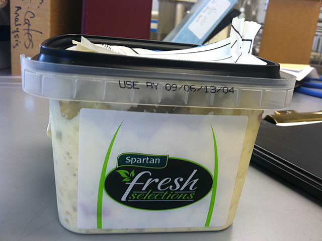 RECALLED – Spartan Fresh Selections American Potato Salad