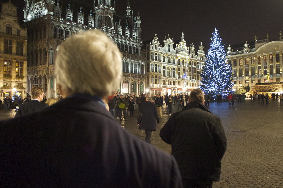 Secretary Kerry Visits the Grand Place