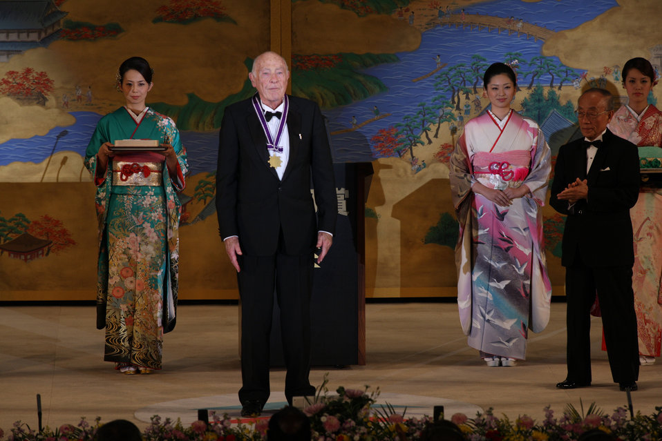 NIST's John Cahn Receives Kyoto Prize