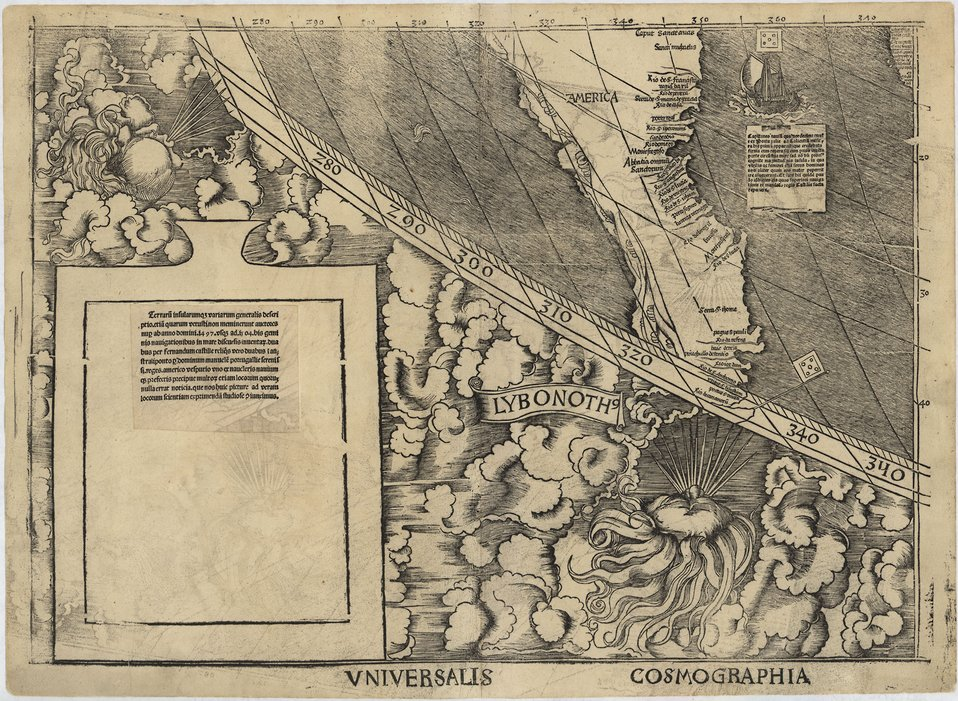 NIST To Preserve 1507 Map. America's 'Birth Certificate'