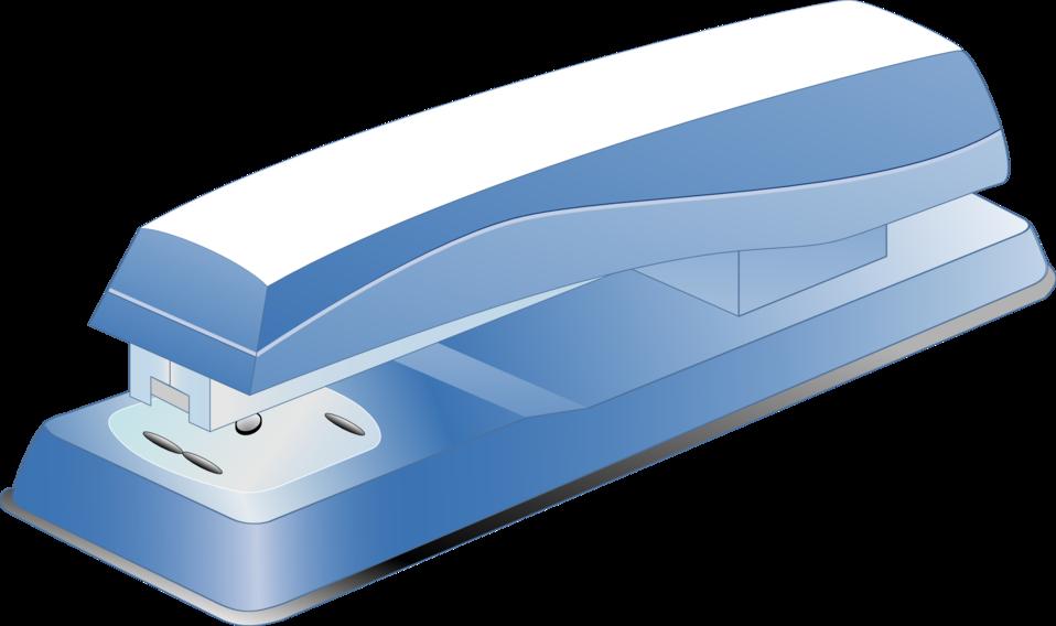 blue stamper