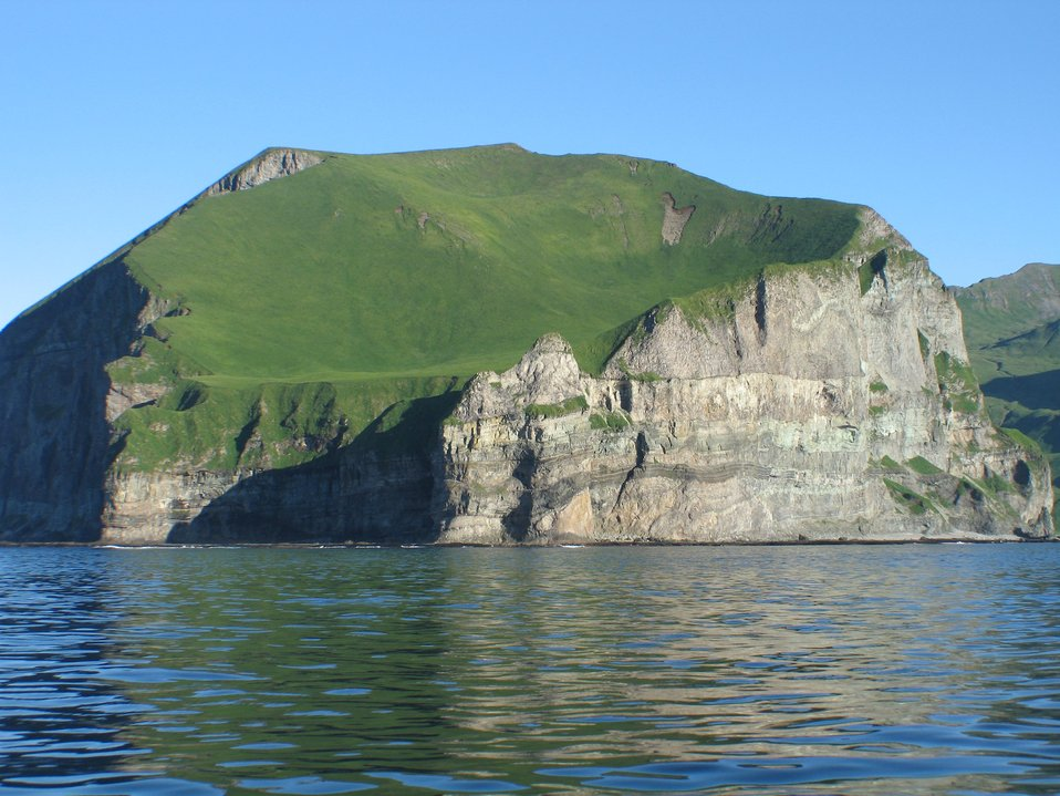 Cape Prominence on the south side of Unalaska Island