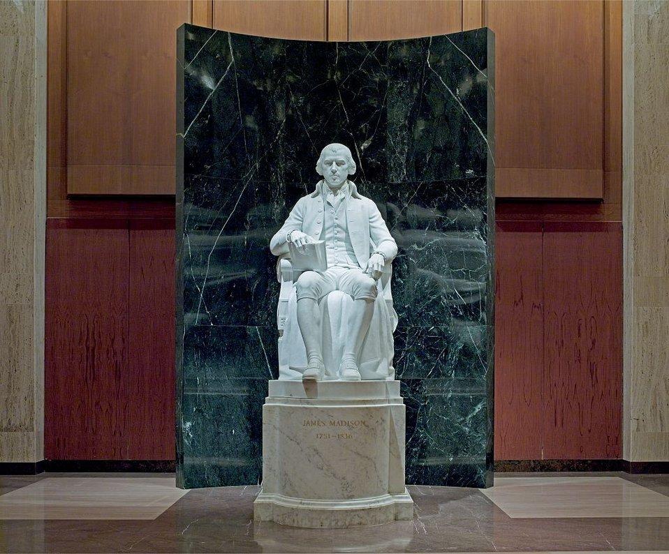 James Madison Statue