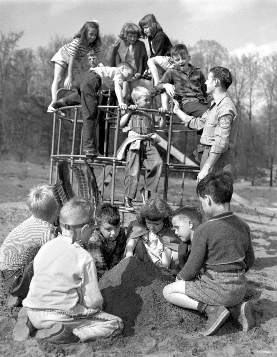 Play Ground Activity for Activity for Recreation Welfare Oak Ridge 1947