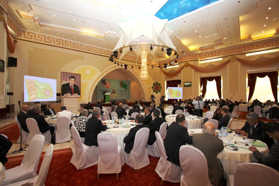 Delegates Participate in the U.S.-Turkmenistan Business Council Forum