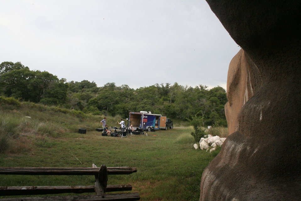 View from the Chiroptorium