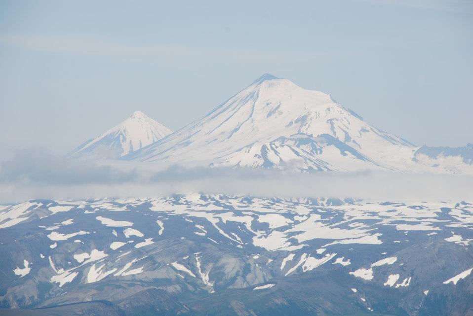 Pavlof SisterandPavlof Volcanoes