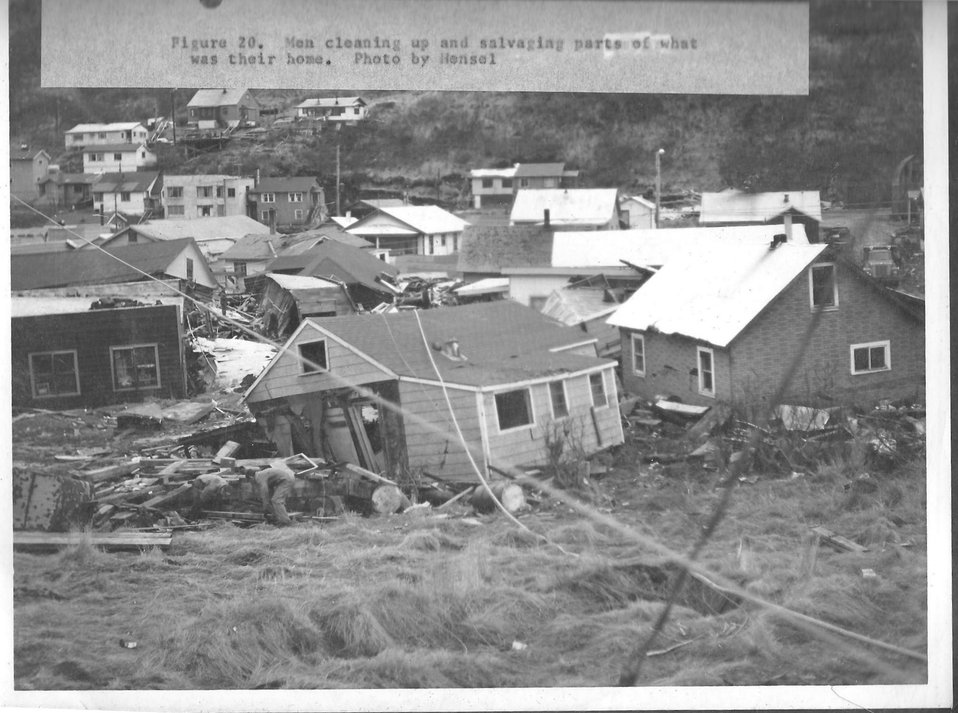 (1964) Tsunami Aftermath