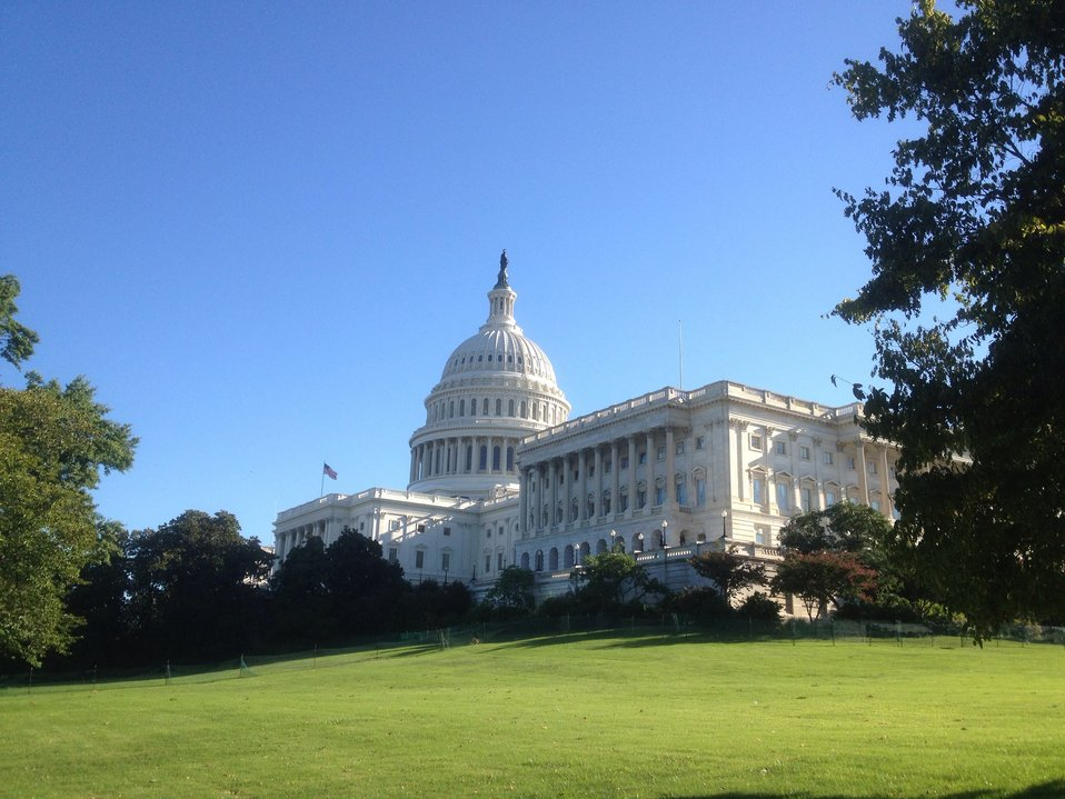 Perfect September morning at the Capitol.