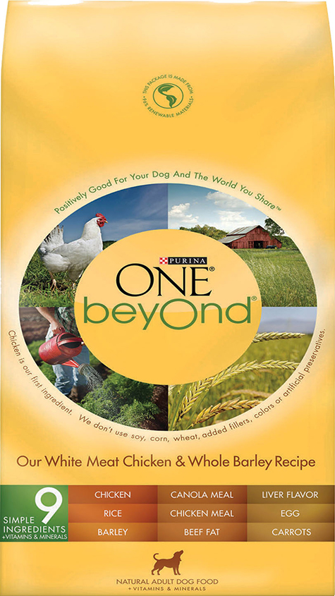 RECALLED – Purina ONE beyOnd Our White Meat Chicken and Whole Barley Recipe Adult Dry Dog Food