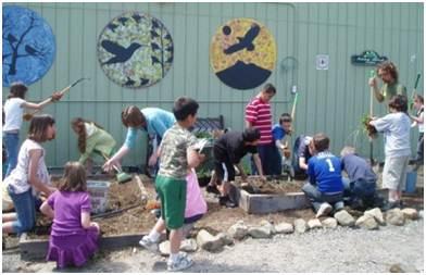 Children and Nature Gold Street School, Yreka
