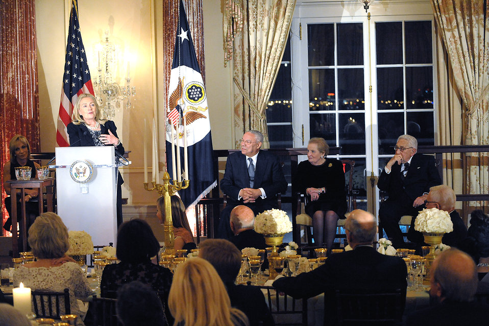 Secretary Clinton Celebrates the 50th Anniversary of the Diplomatic Reception Rooms