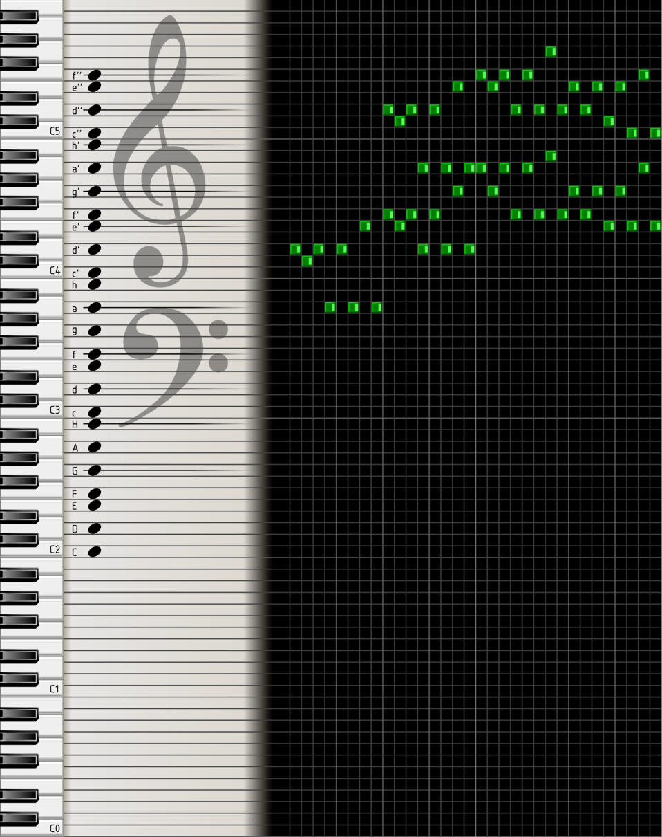 digital music sheet