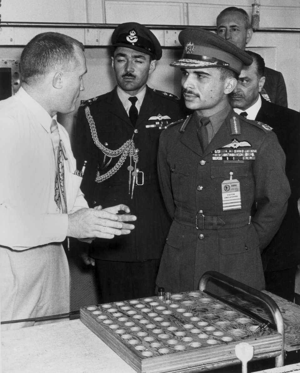 King Hussein of Jordan Tour at Oak Ridge National Lab.