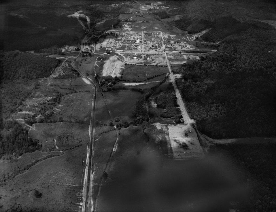 Air View of X-10 ORNL Oak Ridge