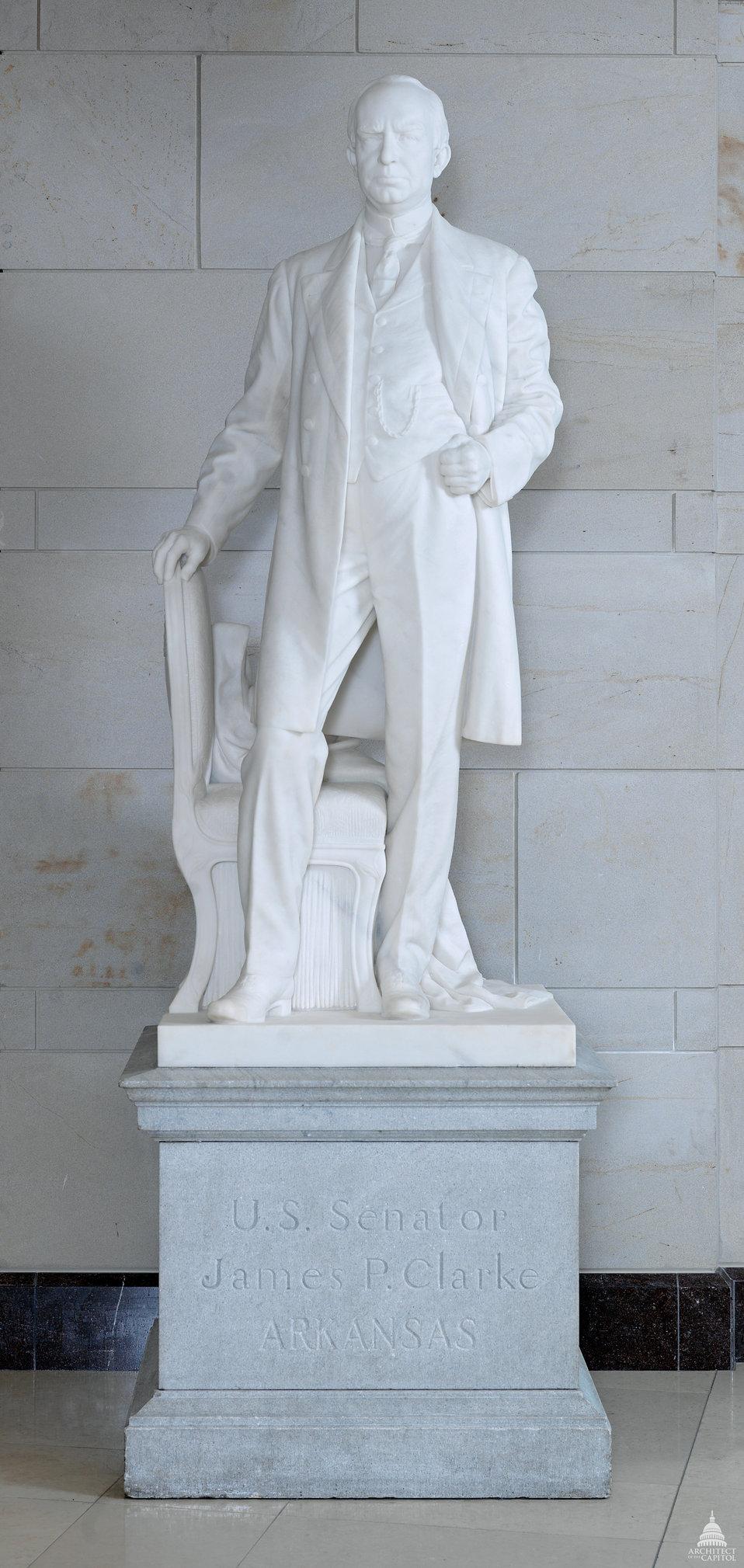 James Paul Clarke Statue