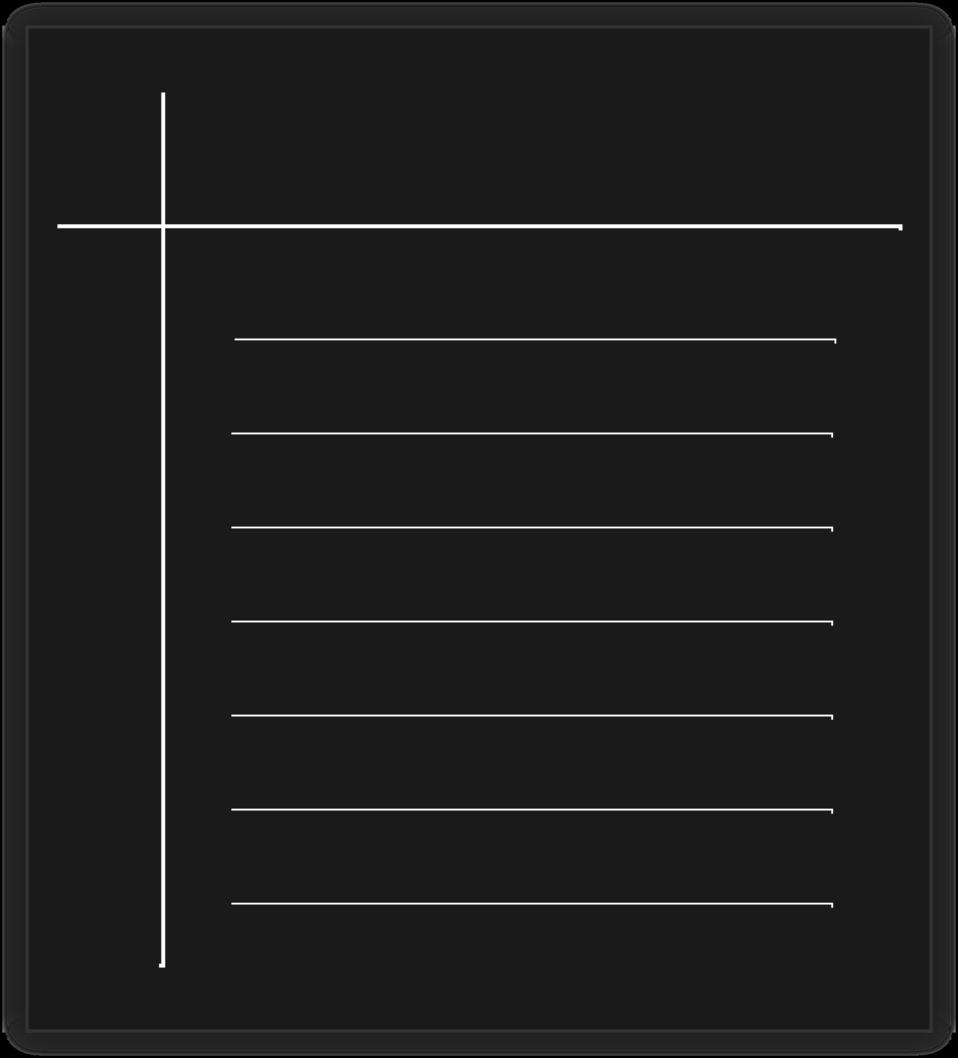 Monochrome word processor icon