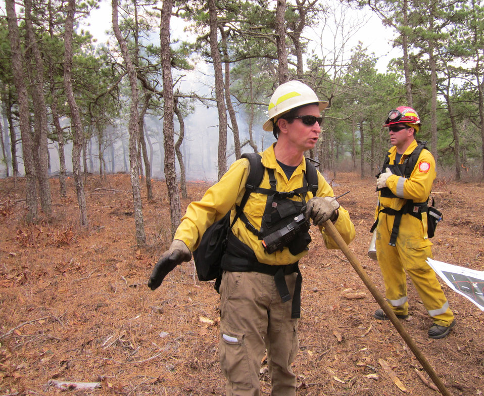 Fire Management Officer in Action