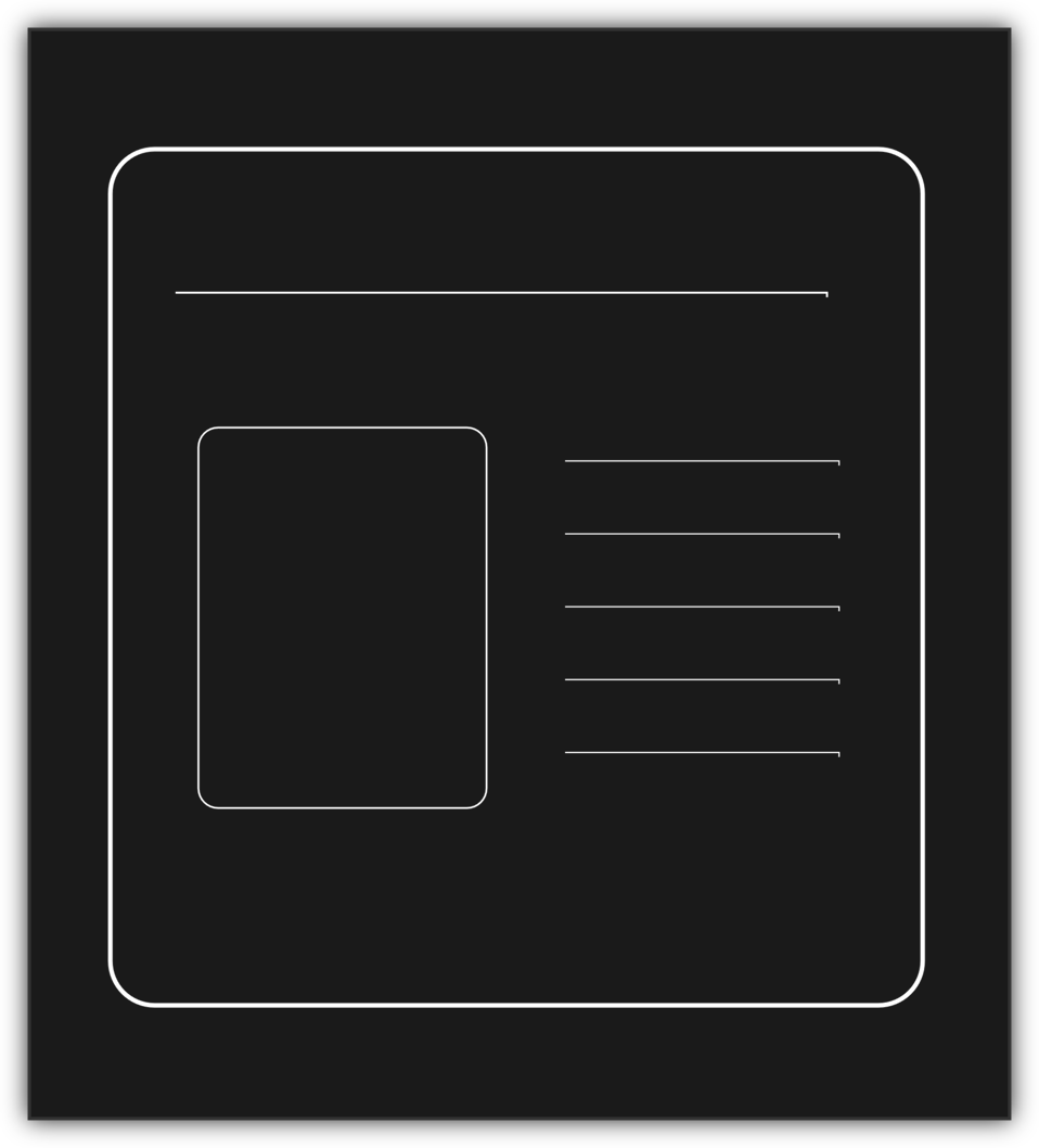 Monochrome Presentation icon