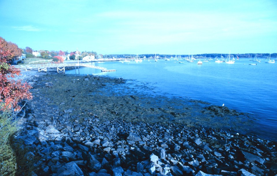 A view in the Portsmouth Harbor area