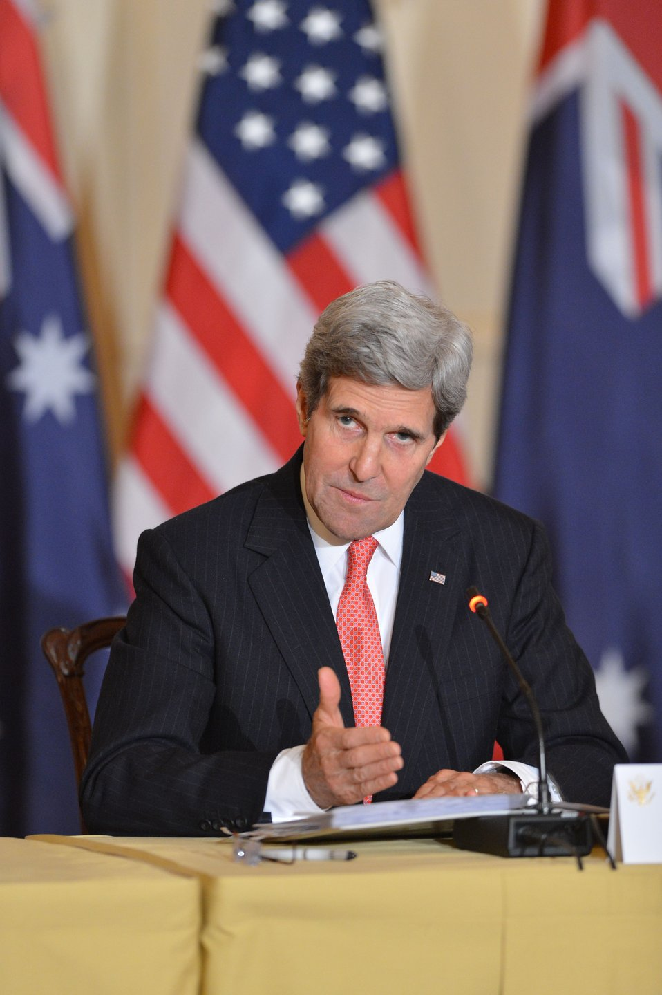 Secretary Kerry Addresses Reporters at the Australia-United States Ministerial Consultations