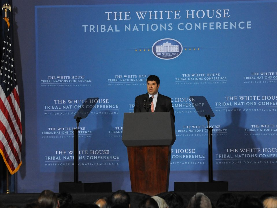 Deputy Secretary Neal Wolin at the White House Tribal Nations Conference