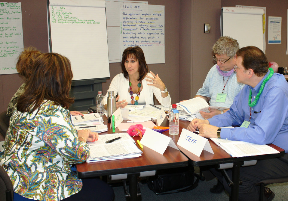 Baldrige Examiner Training